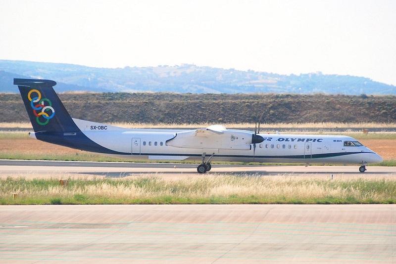 Olympic Air Santorini